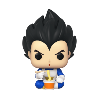 Dragon Ball Z - Vegeta Eating Noodles Pop! Vinyl Figure (2020 Spring Convention Exclusive)
