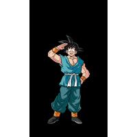 Dragon Ball Z - Casual Goku XL FigPin Enamel Pin
