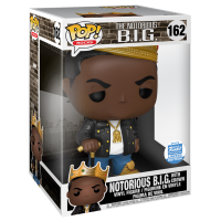 Notorious B.I.G. - Notorious B.I.G. with Crown 10 Inch Pop! Vinyl Figure (Funko Shop Exclusive)