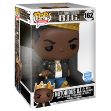 Notorious B.I.G. - Notorious B.I.G. with Crown 10 Inch Pop! Vinyl Figure