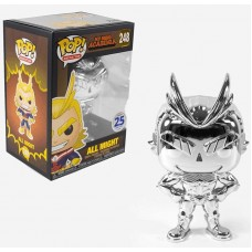 My Hero Academia - Silver Chrome All Might Pop! Vinyl Figure (Funimation Exclusive)