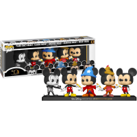 Walt Disney Archives - Mickey Mouse 50th Anniversary Pop! Vinyl Figure 5-Pack