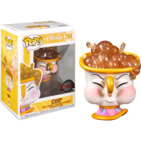 Beauty and The Beast - Chip Potts with Bubbles Pop! Vinyl Figure