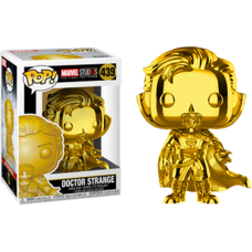 Marvel Studios: The First Ten Years - Doctor Strange Gold Chrome Pop! Vinyl Figure