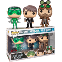 Artemis Fowl - Artemis, Mulch & Holly Pop! Vinyl Figure 3-Pack