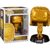 Star Wars - Princess Leia Metallic Gold Pop! Vinyl Figure