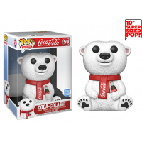 Ad Icons - Coca-Cola Polar Bear 10 Inch Pop! Vinyl Figure (Funko Shop Exclusive)