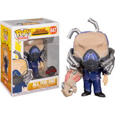 My Hero Acadamia - All for One Charged Pop! Vinyl Figure