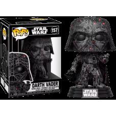 Star Wars - Darth Vader Futura Pop! Vinyl Figure with Pop! Protector