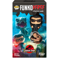 Jurassic Park - Ian Malcolm & Tyrannosaurus Rex Pop! Funkoverse Strategy Game 2-Pack