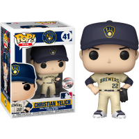 MLB Baseball - Christian Yelich Milwaukee Brewers Pop! Vinyl Figure