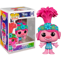 Trolls World Tour - Queen Poppy Pop! Vinyl Figure