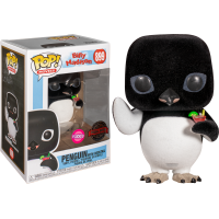 Billy Madison - Penguin with Cocktail Flocked Pop! Vinyl Figure