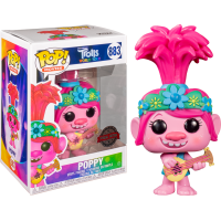 Trolls World Tour - Queen Poppy with Guitar Pop! Vinyl Figure