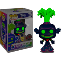 Trolls World Tour - King Trollex Glow in the Dark Pop! Vinyl Figure