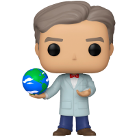 Bill Nye the Science Guy - Bill Nye with Globe Pop! Vinyl Figure