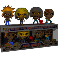 Iron Maiden - Eddie Glow in the Dark Pop! Vinyl Figure 4-Pack