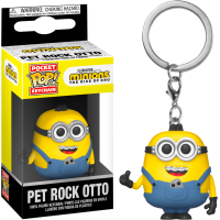 Minions 2: The Rise of Gru - Pet Rock Otto Pocket Pop! Vinyl Keychain