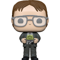 The Office - Dwight Schrute with Jello Stapler Pop! Vinyl Figure