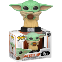 Star Wars: The Mandalorian - The Child (Baby Yoda) with Cup Pop! Vinyl Figure