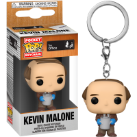 The Office - Kevin Malone with Chilli Pot Pocket Pop! Vinyl Keychain