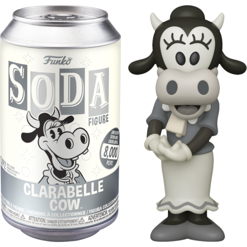 Disney - Clarabelle Cow Vinyl SODA Figure in Collector Can
