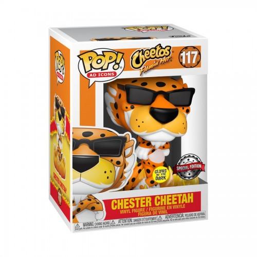 Cheetos - Flaming Hot Chester Glow in the Dark Pop! Vinyl FIgure