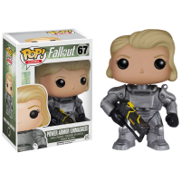 Fallout - Female Power Armor Unmasked Pop! Vinyl