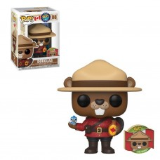 Around the World - Douglas with Collector Pin Canada Pop! Vinyl Figure