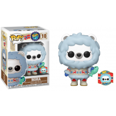 Around the World - Nora the Polar Bear with Collector Pin Norway Pop! Vinyl Figure