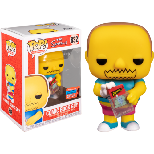 The Simpsons - Comic Book Guy Pop! Vinyl Figure (2020 Fall Convention Exclusive)