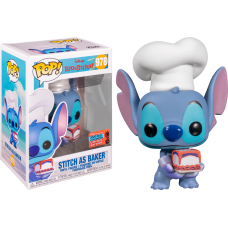 Lilo & Stitch - Stitch as Baker Pop! Vinyl Figure (2020 Fall Convention Exclusive)