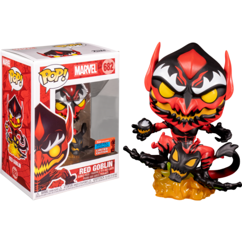 Spider-Man - Red Goblin Pop! Vinyl Figure (2020 Fall Convention Exclusive)