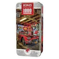 Masterpieces Puzzle Worlds Smallest High Performance Tin Box Puzzle 1,000 pieces
