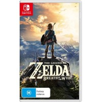 Nintendo Switch - Legend of Zelda Breath of the Wild