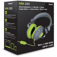 iSound HM-260 Wired Headphone - Green