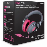 iSound HM-260 Wired Headphone - Pink