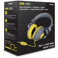 iSound HM-260 Wired Headphone - Yellow