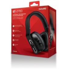 iSound Bluetooth BT-2700 Headphone - Black