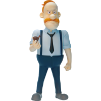 Inspector Gadget - Quimby 1/12th Scale Action Figure