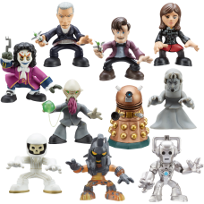 Doctor Who - Time Squad Pack of 18 Figures