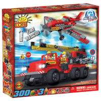 Action Town - 300 Piece Fire Rescue Construction Set