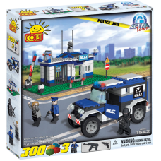Action Town - 300 Piece Police Jail Construction Set