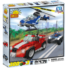 Action Town - 300 Piece Police Chase Construction Set