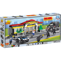 Action Town - 500 Piece Bank Robbery Construction Set