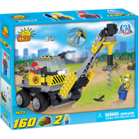 Action Town - 160 Piece Construction Drill Construction Set