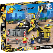 Action Town - 330 Piece Construction Backhoe Loader Construction Set