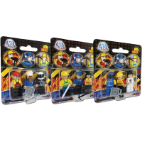 Action Town - 3 Piece Figure Set Construction Set