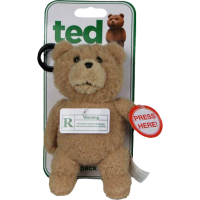 Ted - Talking Plush Backpack Clip (R-Rated Version)