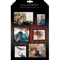 Game of Thrones - Daenerys Targaryen Magnet Set
